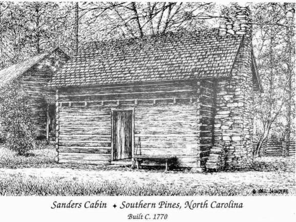 The sanders family cabin Cabin drawings